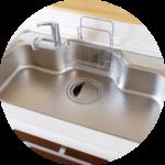 キッチンなどのお掃除は便利屋ダイコーレディにおまかせください。